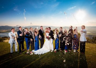 Champagne showers 400x284 - Weddings and Events