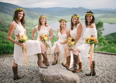 Girls Flowers and Boots 400x284 - Weddings and Events