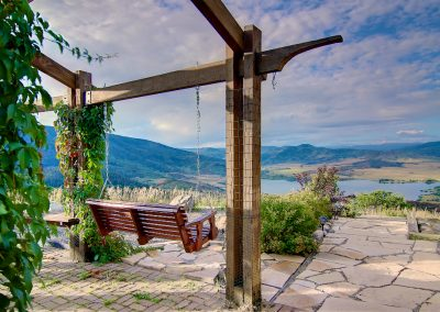 Porch Swing Lake Catamount Views Bella Vista sm 400x284 - Summer