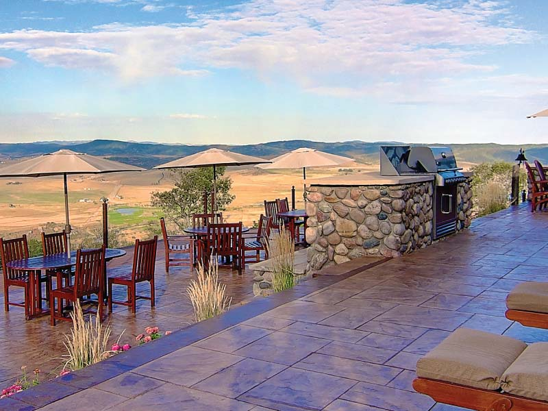bella vista estate lodge patio - Lodge