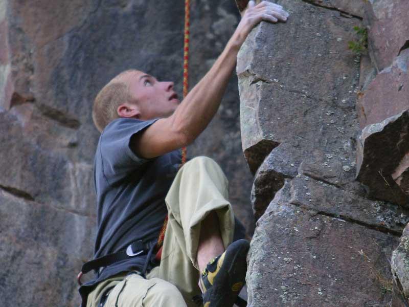 Bella Vista climbing 01 - Ice & Rock Climbing