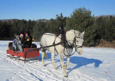 Bella Vista sleigh ride 01 400x284 - Steamboat