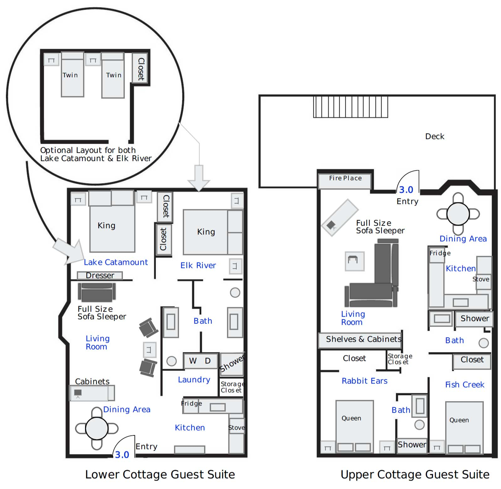 Cottage Floorplan - Cottages