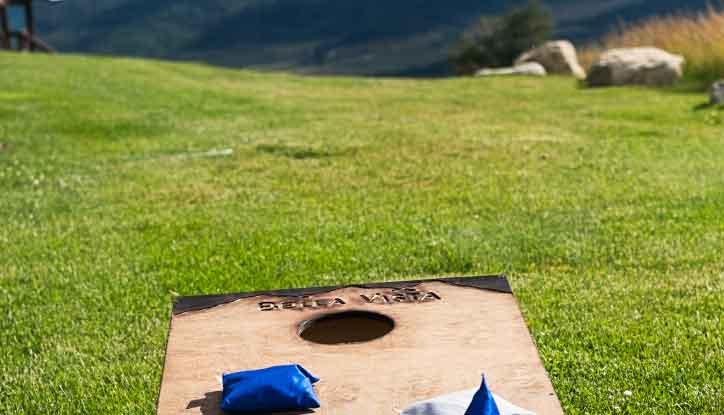 bella vista amentities cornhole lawn - Amenities