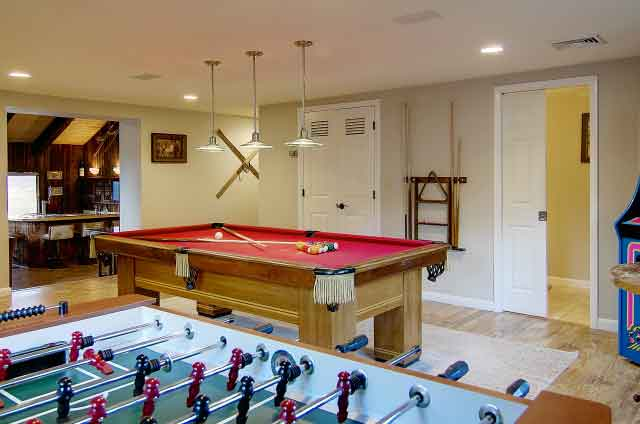 bella vista amentities gameroom - Amenities