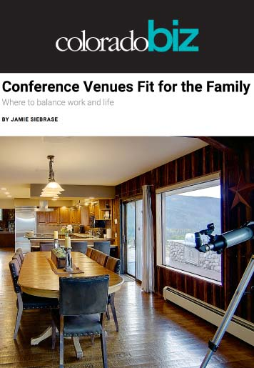 colorado biz conference venue for family - Press