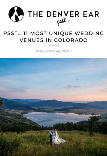 denver ear bella vista weddings - Press