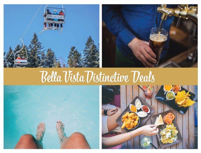 Bella Vista Distinctive Deals - 2017/2018 Distinctive Deals