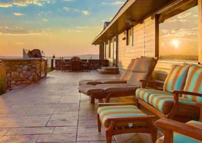 Back Patio Sunset Beauty Bella Vista 400x284 - Summer