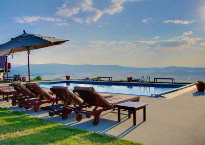 Bella Vista Estate Steamboat Private Pool 400x284 - Summer