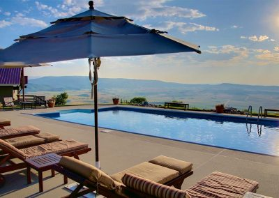 Heated Pool Private Estate Steamboat Colorado 400x284 - Summer