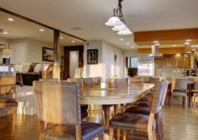 Lodge Living Room Kitchen Dining Room 400x284 - Home Interiors
