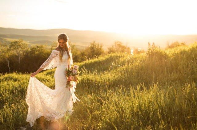 Bella Vista bride field - Weddings