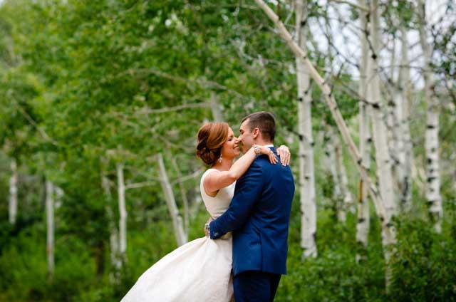 Bella Vista outdoor aspens wedding - Weddings