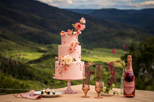 Bella Vista wedding cake - Weddings