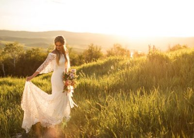 mountain wedding dress bella vista 400x284 - Weddings and Events