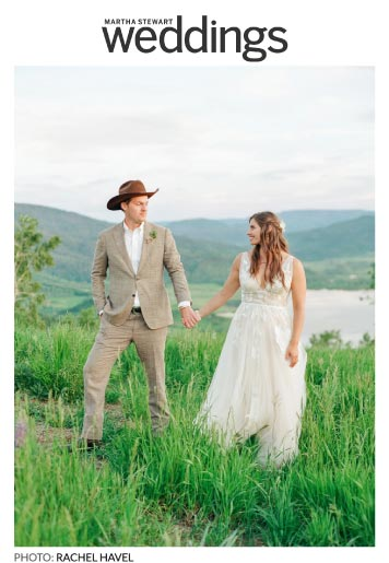 martha stewart weddings - Press