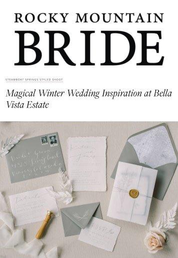 bella vista rocky mountain bride - Press